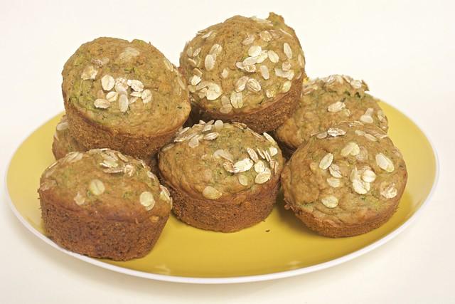 Muffins aux courgettes sains et moelleux
