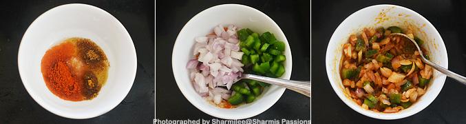 Grilled Egg Bhurji Sandwich Recipe - Step1