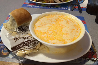 Maine - Old Town Governor's Restaurant and Bakery Lobster bisque