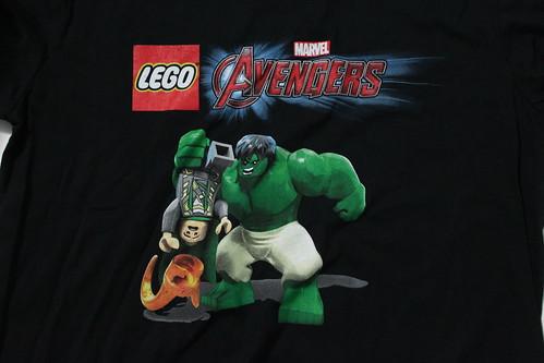 LEGO Marvel's Avengers SDCC 2015 T-Shirt