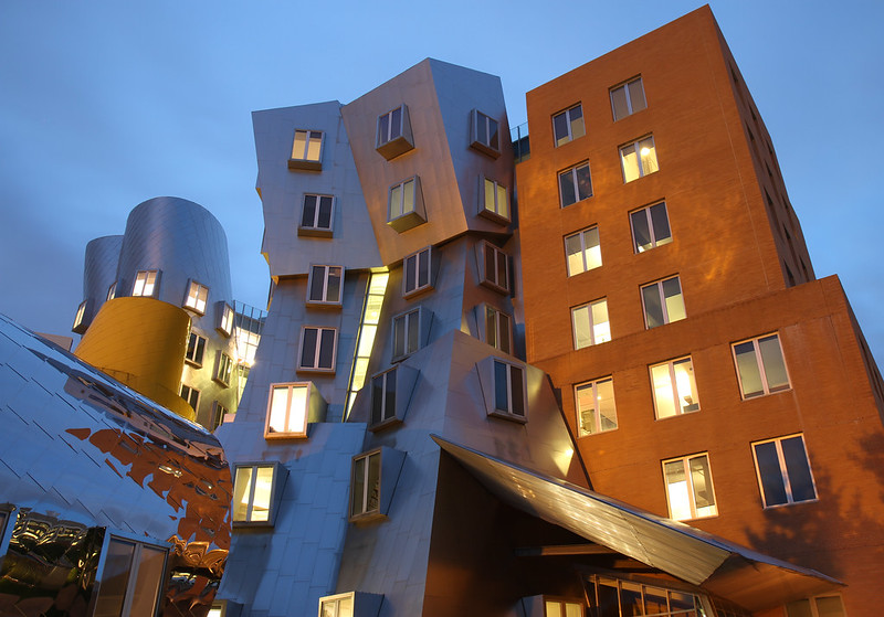 Ray and Maria Stata Center - MIT campus
