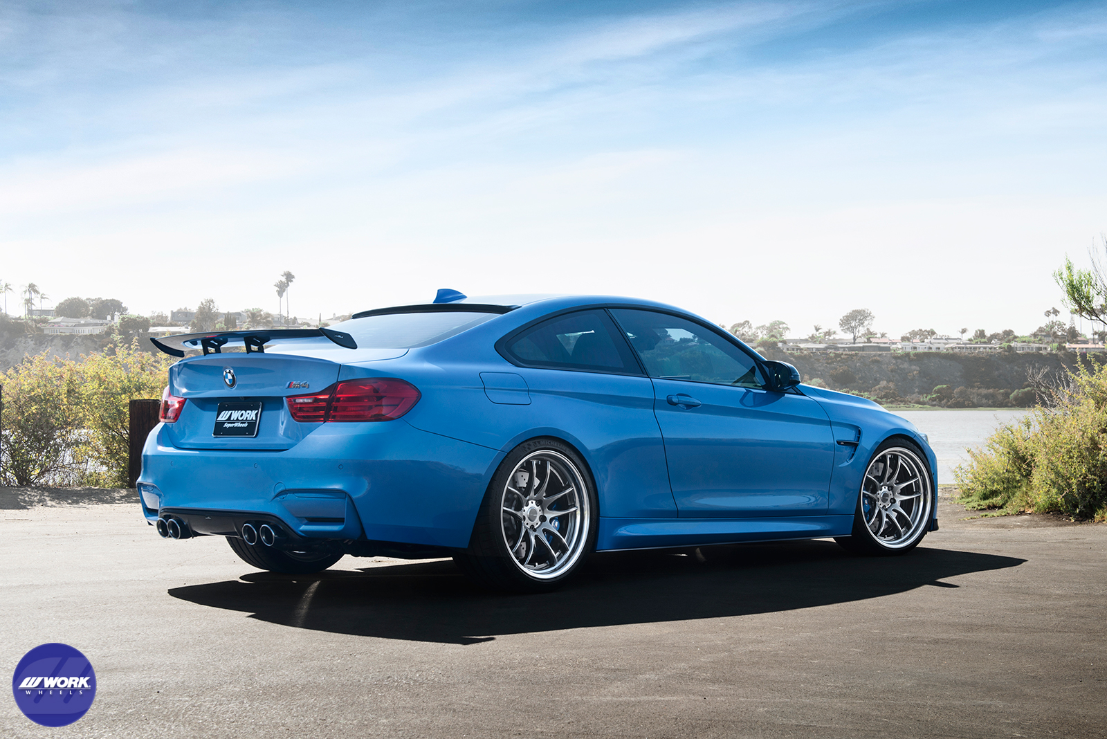 Michelin Pilot Sport >> BMW M4 (F82) on WORK Emotion CR 2P Photoshoot – WORK Wheels USA