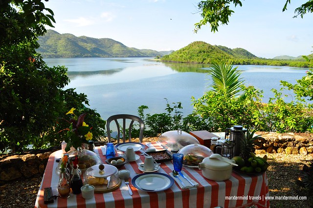 Breakfast at La Estancia Busuanga