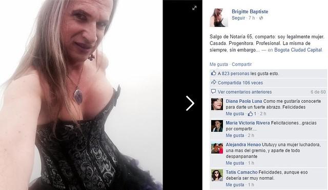 Rompí El Molde De Ser Hombre Brigitte Baptiste Elespectadorcom