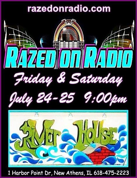 Razed On Radio 7-24, 7-25-15