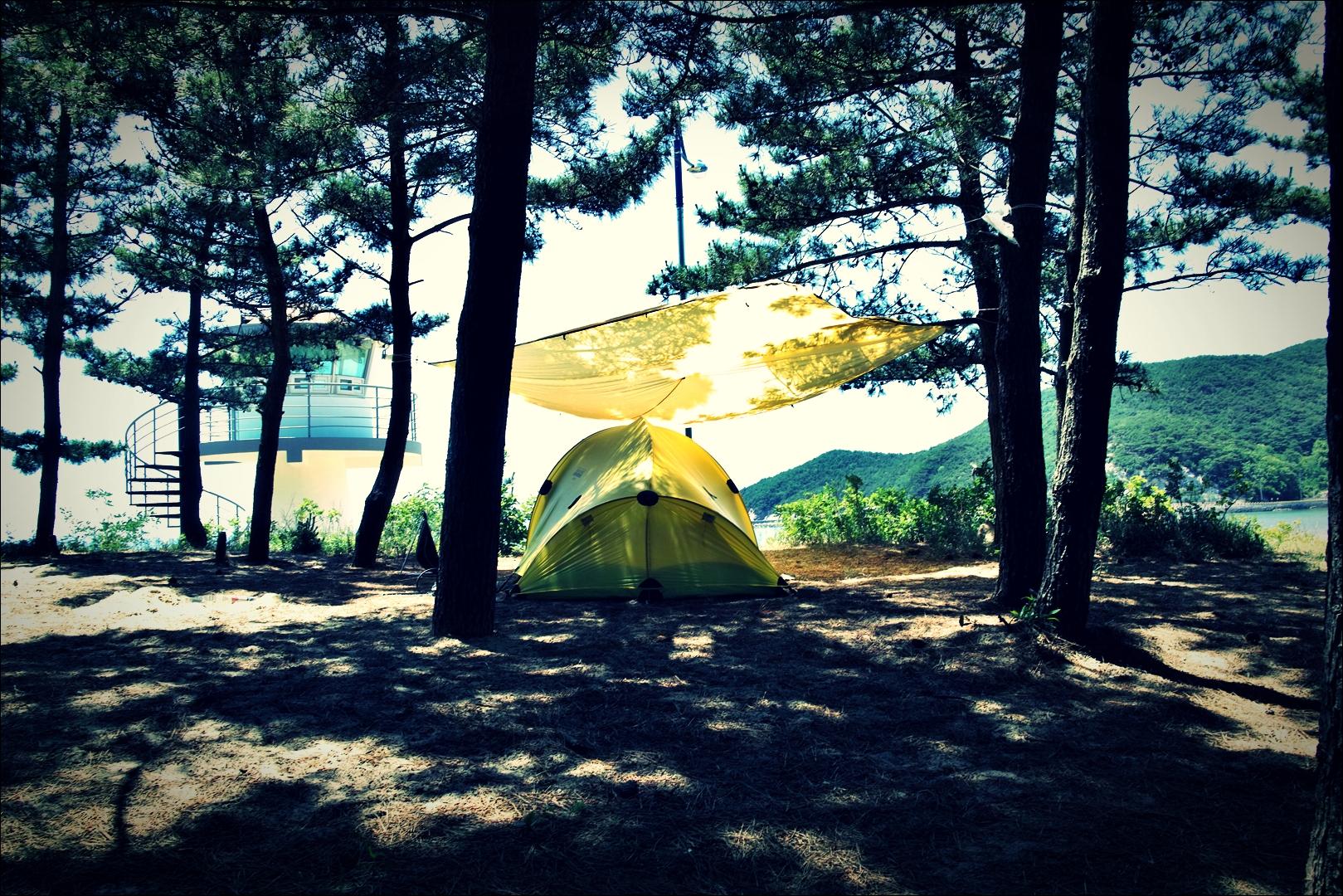 캠핑-'덕적도 서포리 해수욕장 백패킹'