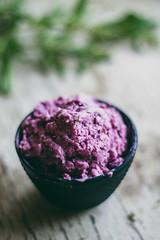 Blackberry and Lemon Verbena Ice Cream