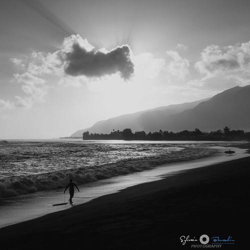 travel sunset blackandwhite bw seascape sunrise nikon surf tahiti paysage polynésie papara sylvainbernardin