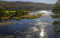 A Glint Over Loch Oich