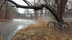 2016 Bike 180: Day 221 - Sunday Fog