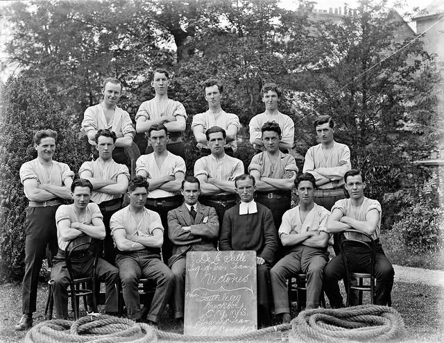 De La Salle College, Waterford. Tug of War.