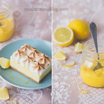 lemon cheesecake with meringue