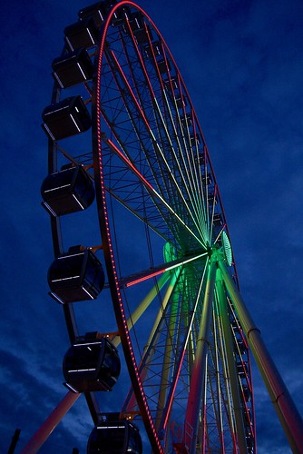 Seattle Ferris Wheel | by dr mitch