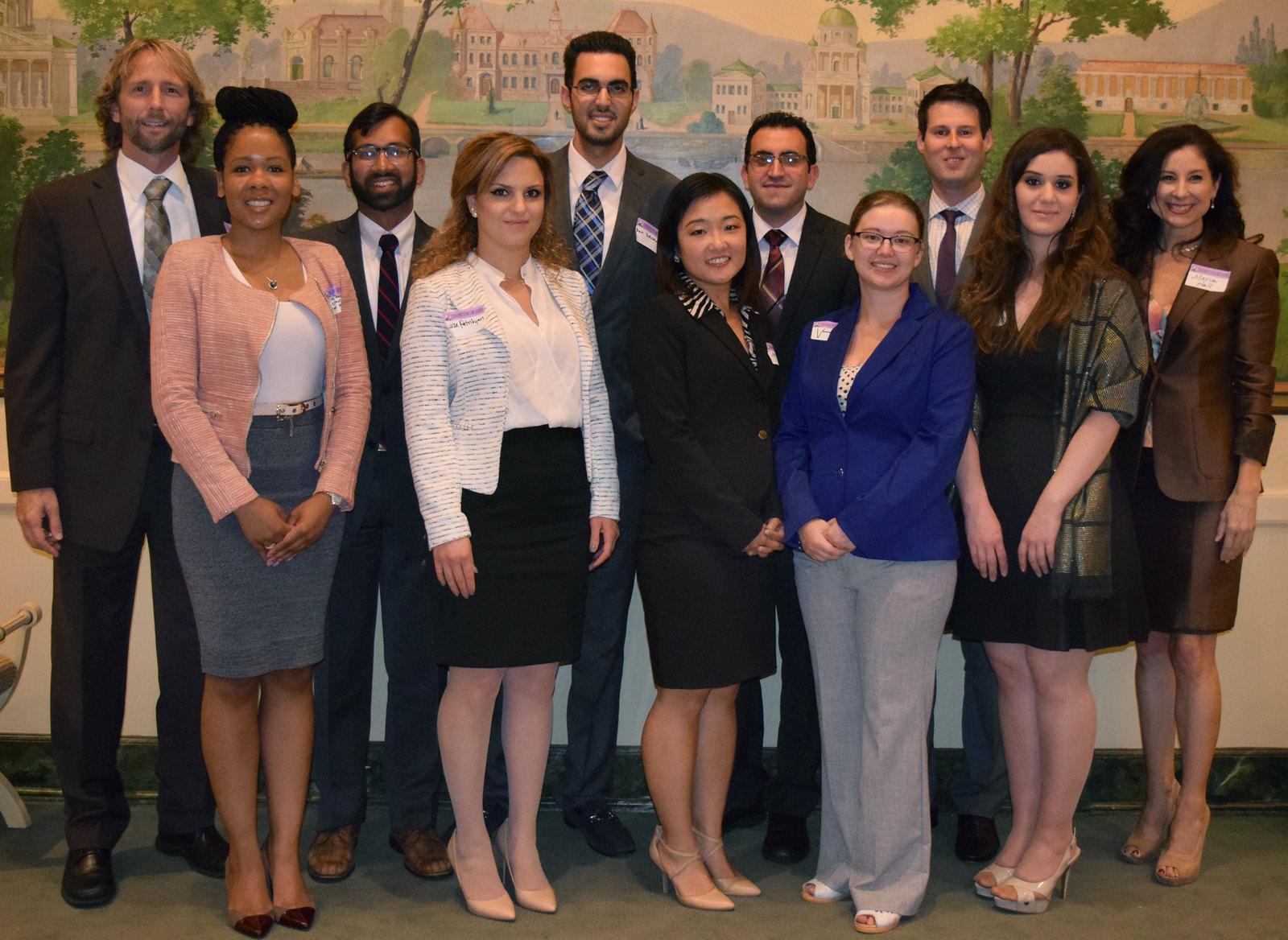 Incubator Program Participants with Directors