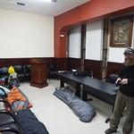 Mo, 15.06.15 - 19:13 - Schlafplatz  bei den Bomberos