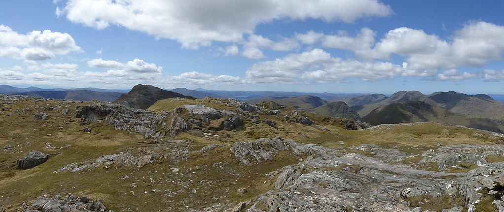 South western pano from Beinn Odhar Mhor