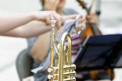 saxophone(0.0), western concert flute(0.0), woodwind instrument(1.0), trumpet(1.0), brass instrument(1.0), wind instrument(1.0),