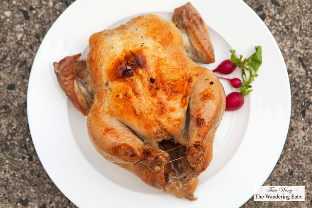 Farm fresh roast chicken from Greene, NY