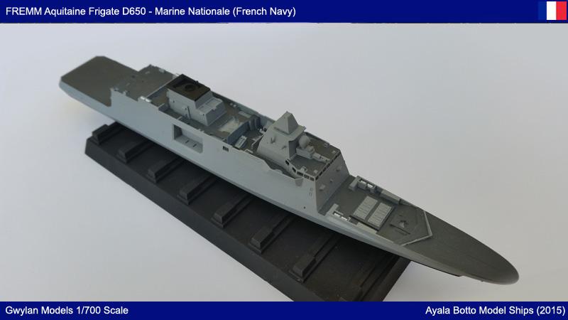 FREMM Aquitaine D650 Frégate ASM Gwylan Models 1/700 19541367989_caae74275e_o