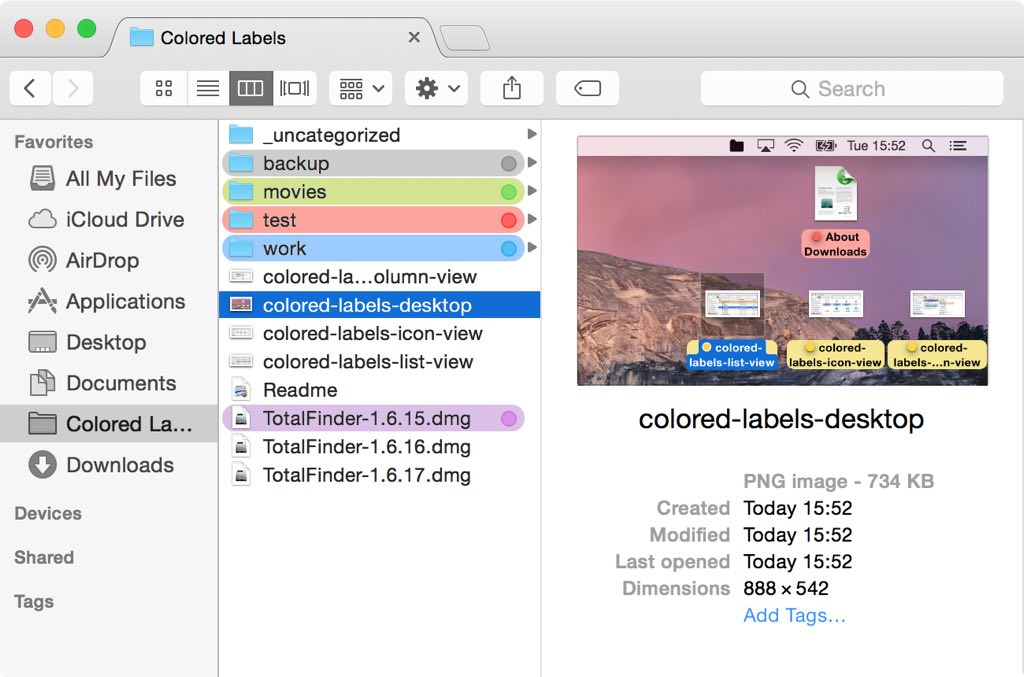 TotalFinder 1 11 4 – Adds tabs, hotkeys, and other tweaks to the
