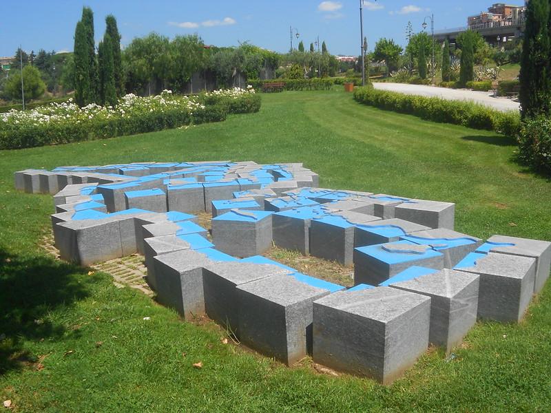 Michelangelo Pistoletto, Love difference, Le sponde del Mediterraneo, Parco Internazionale della Scultura, Catanzaro