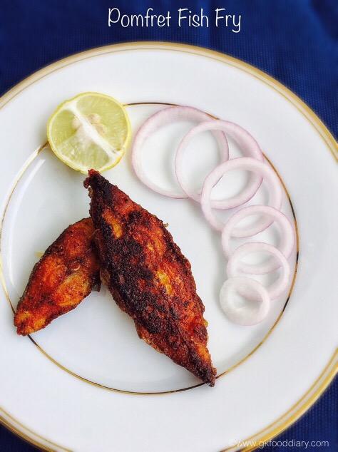 Pomfret Fish fry 3