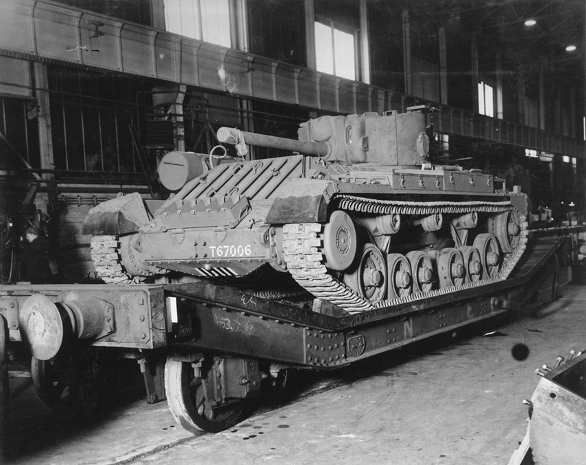Valentine Tank ready for delivery