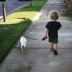 Going for a walk. #latergram