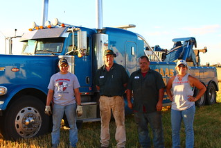 Photo opp with the wrecker guys!