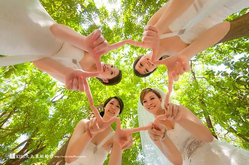 高雄KISS九九麗緻婚紗~跟閨蜜一起拍婚紗!紀念我們逝去的青春… (3)