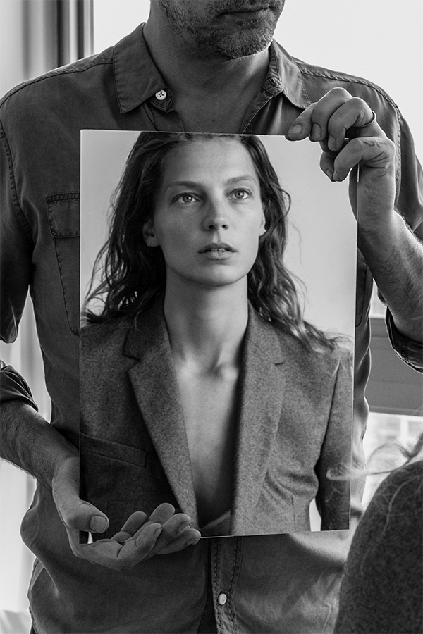 Daria Werbowy - Equipment Fall / Winter 2015
