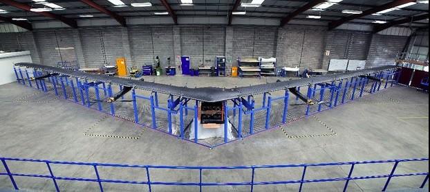 Alista Facebook primer dron para mejorar acceso a internet