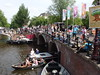 Gay Pride @ Prinsengracht Canal @ Amsterdam