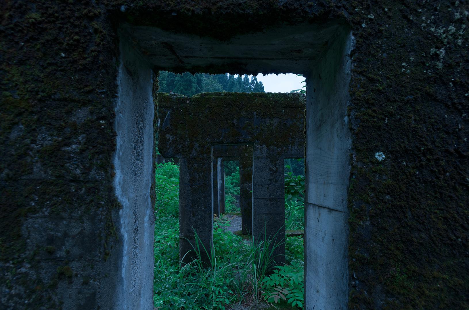 雨の廃鉱山6