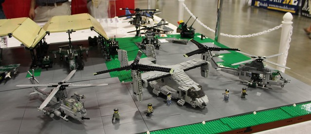 Brickton Air Force Base Collaborative Display - BrickFair VA 2015
