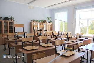Ремонт Красногорбатской средней школы под тройным контролем