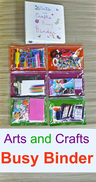 Arts and Crafts Busy Binder