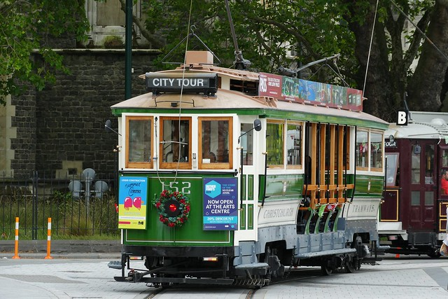 Boon class Tram Christchurch NZ