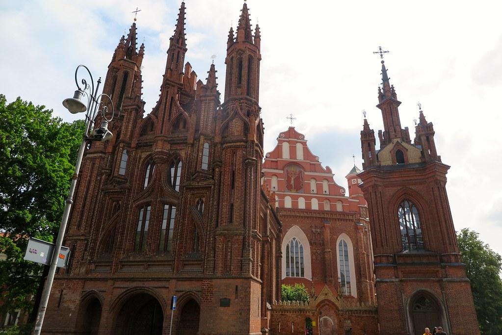 Vilnius - Chiesa di S. Anna