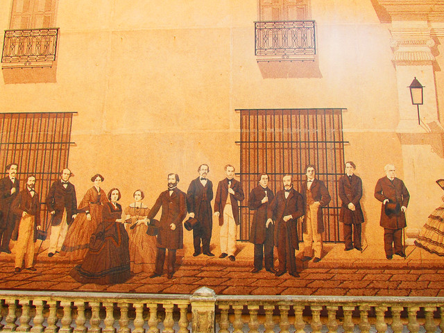 Classic Style Cuban Mural