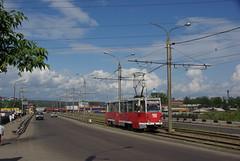 Irkutsk tram 71-605 300