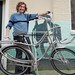 Crazy stainless art bike at WorkCycles
