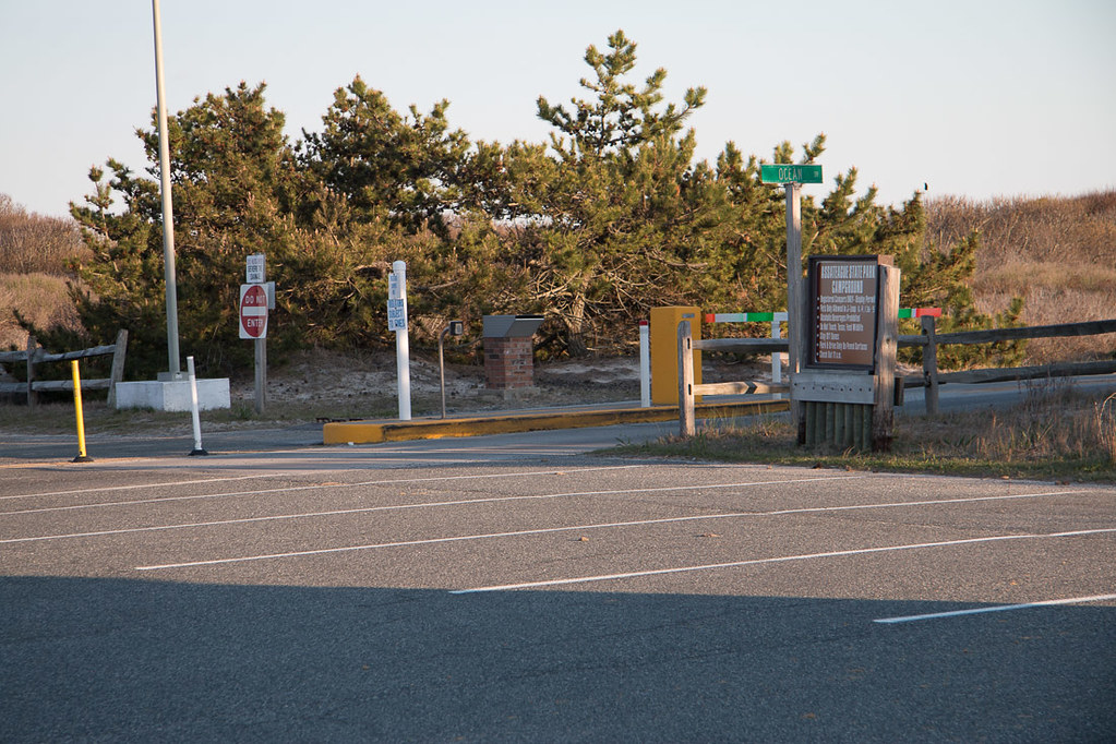 Access gate to Assateague State Park