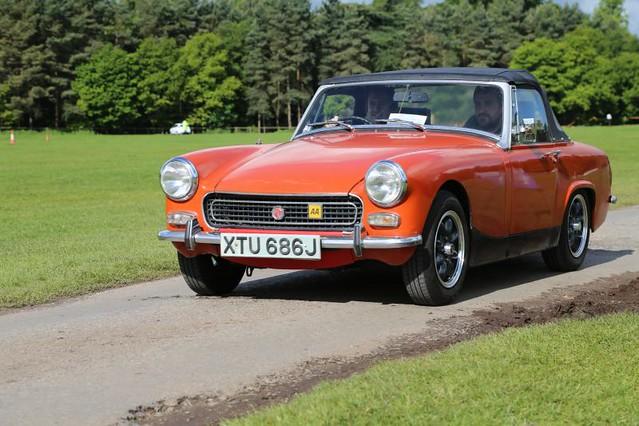 MG Midget Sports Cars - 1971