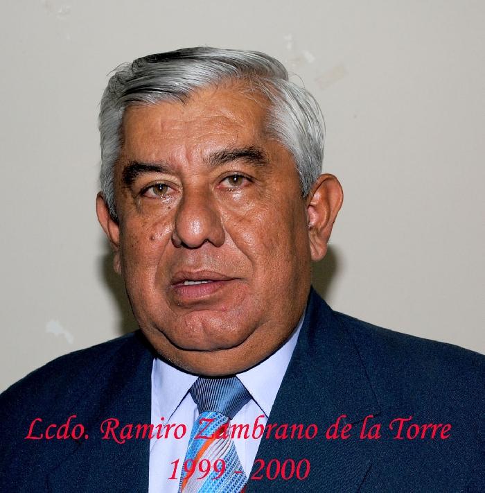 Lcdo. Ramiro Zambrano de la Torre