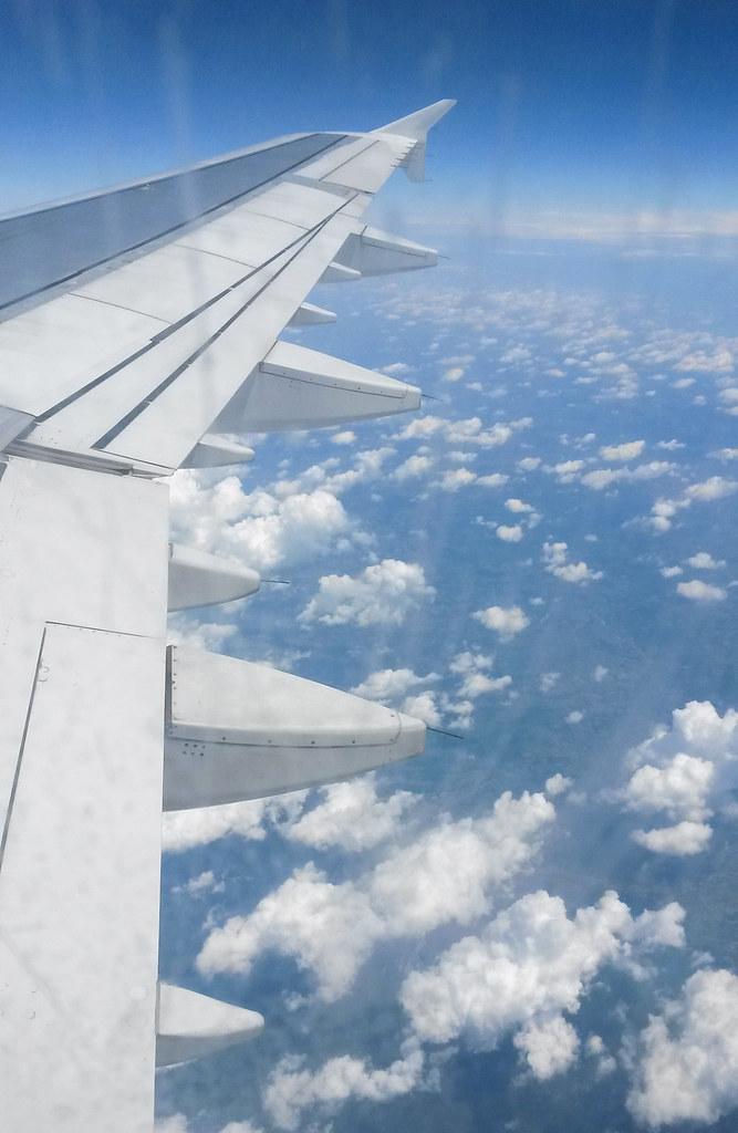 problemer på flyrejsen