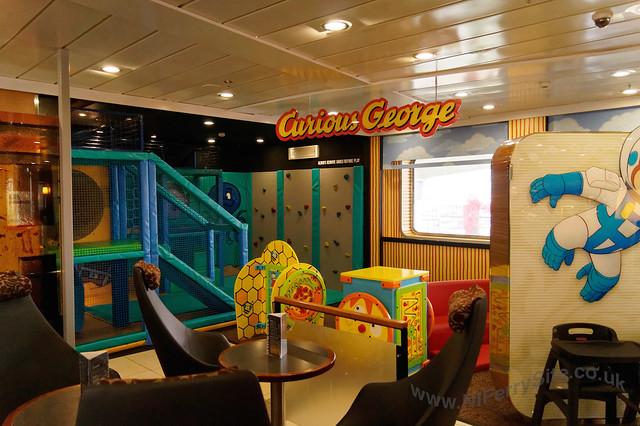Stena Mersey - Children's play area (Curious George).