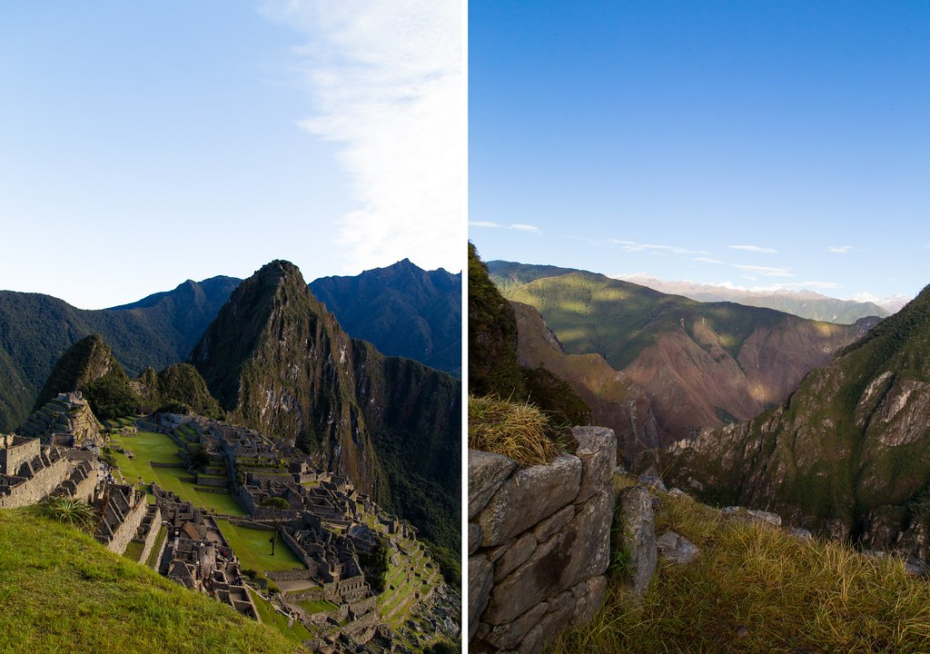 Machu Picchu - one year ago2