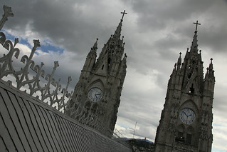 Basilica del Voto Nacional.  Quito, Ecuador.