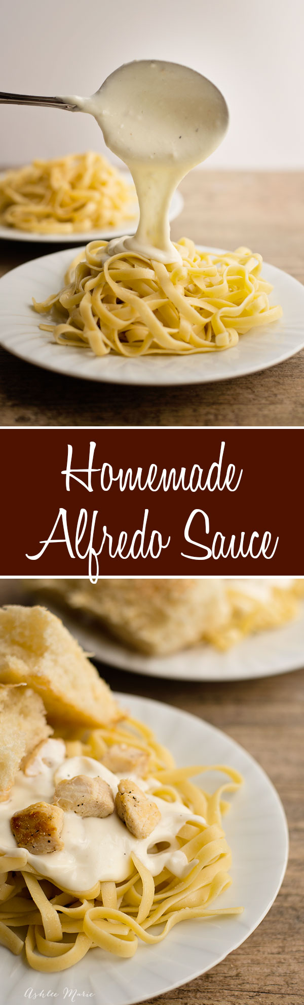 it doesnt get much better than creamy, cheesy homemade alfredo sauce. this recipe is easy to make and is always a huge hit